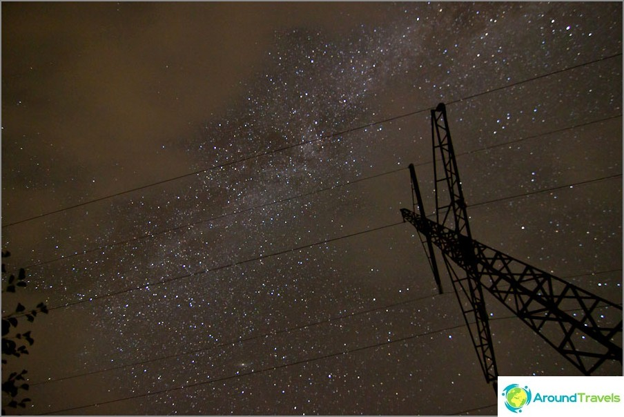 Ensimmäiset kokeilut taivaan kuvaamiseen