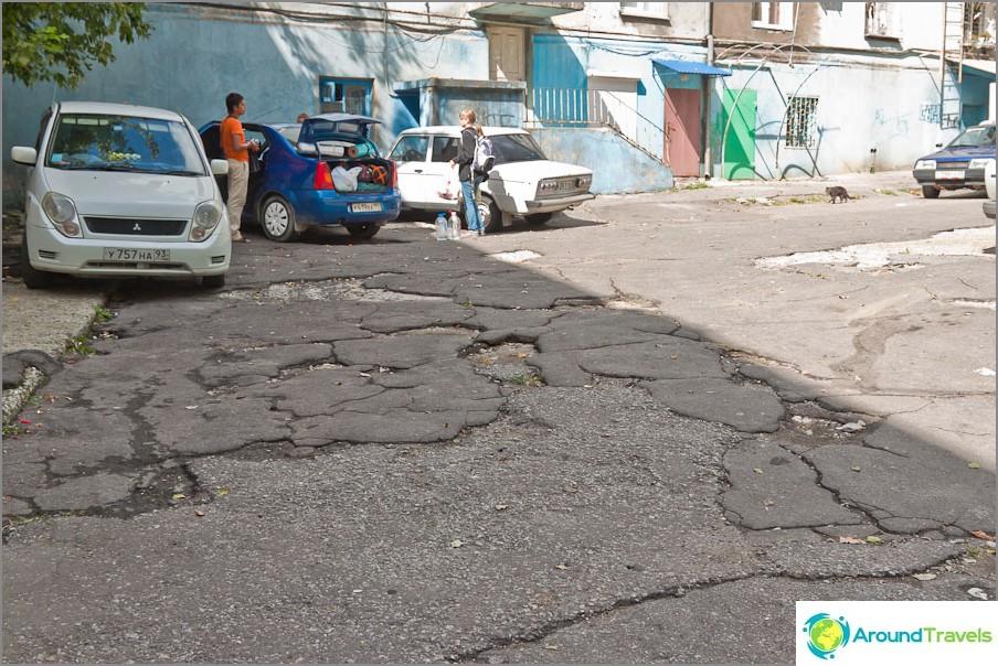 Super asfaltti pihoilla