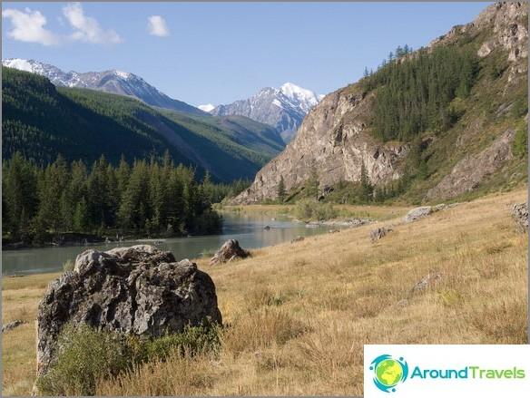 Altai. Chuya-joki.