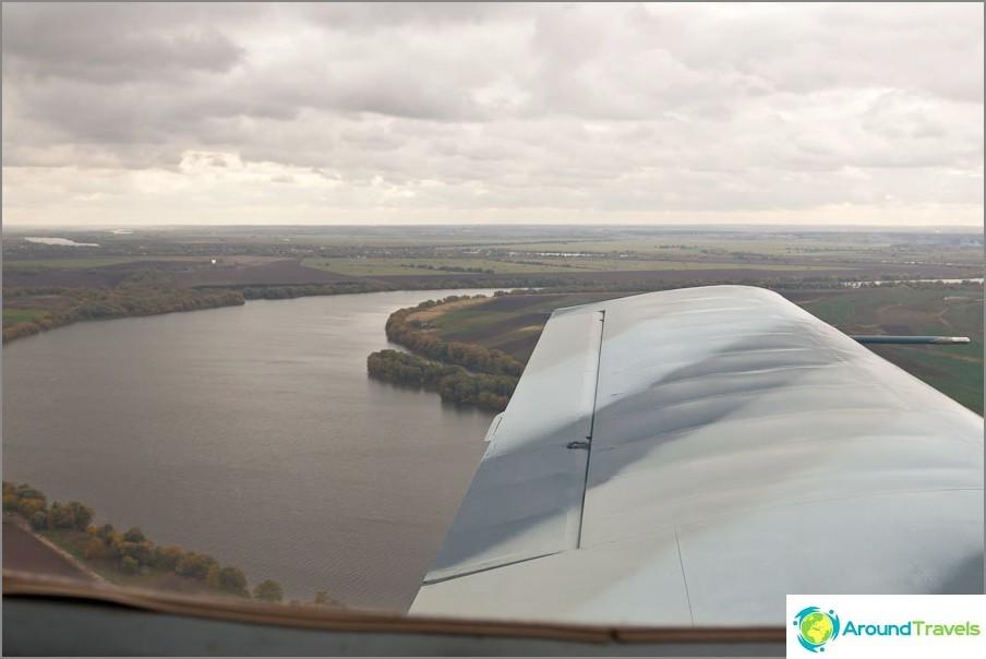 Типични руски пейзажи от прозореца