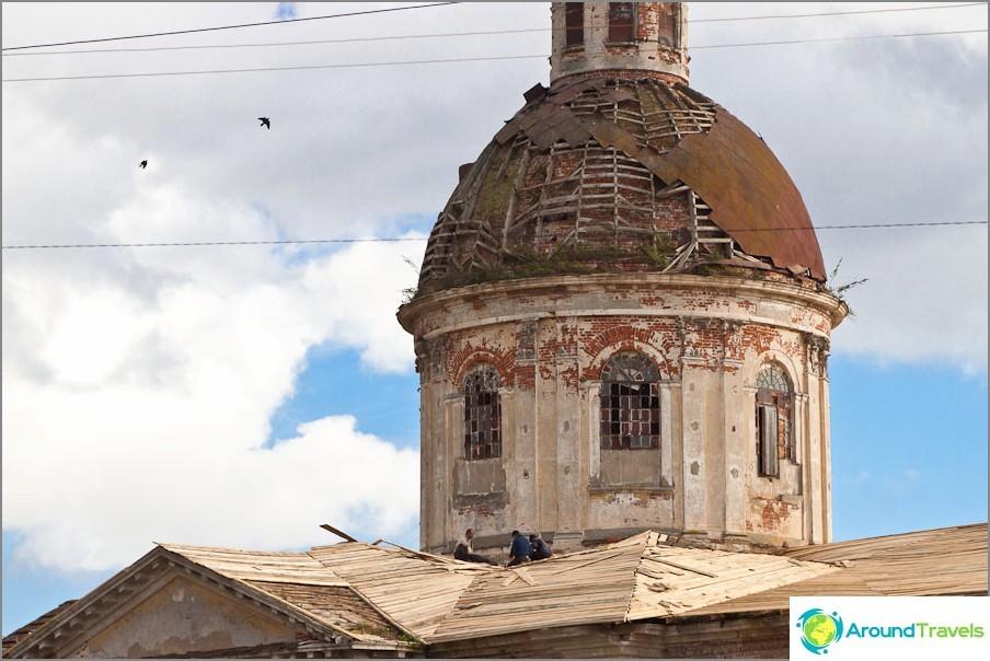 Възстановяване на Казанската църква