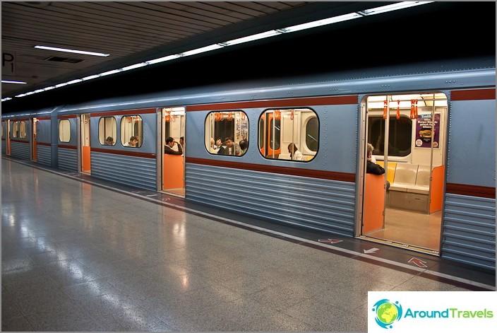 Metro Ankarassa. Turkki.