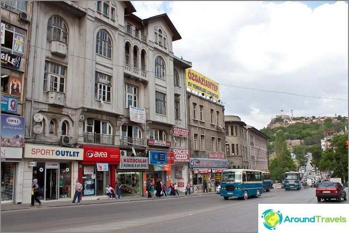 Ankara on Turkin pääkaupunki.