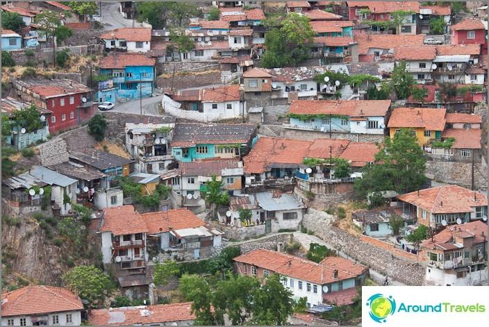 Ankaran vanha kaupunki.