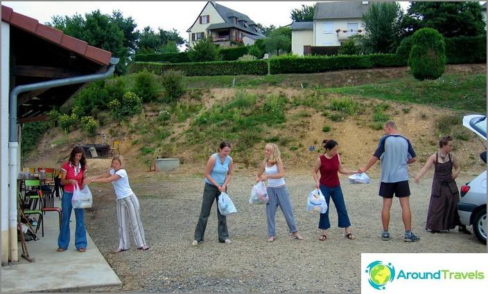 Доброволчески лагер - единство в работата.