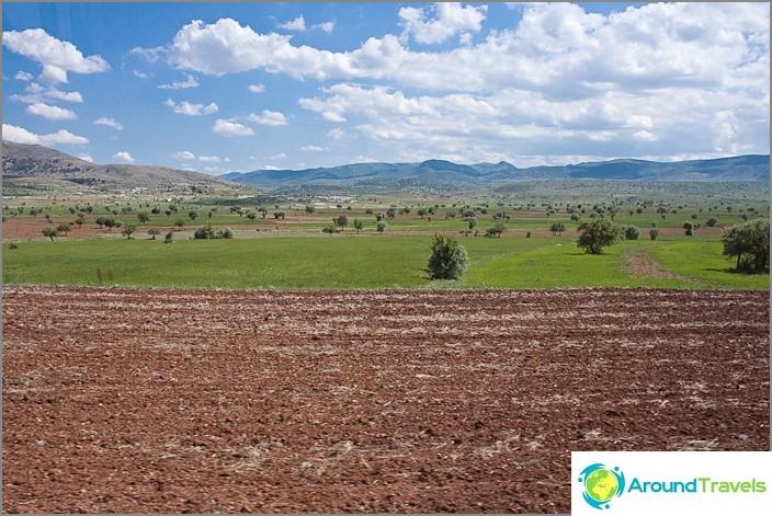 Централна Турция Самостоятелно пътуване.