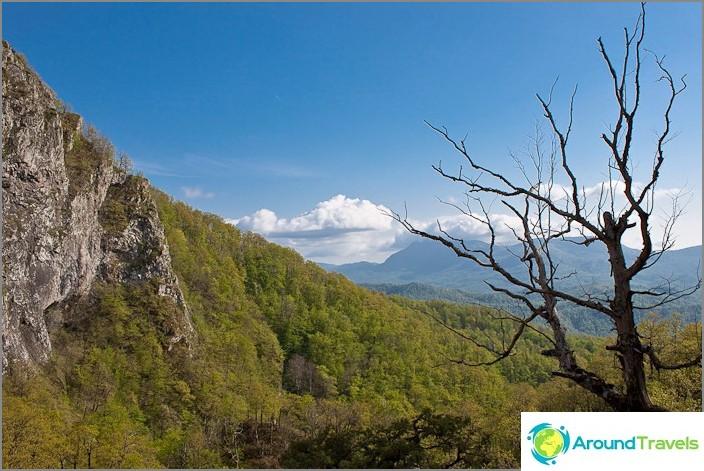 Kaukasuksen vuoret.