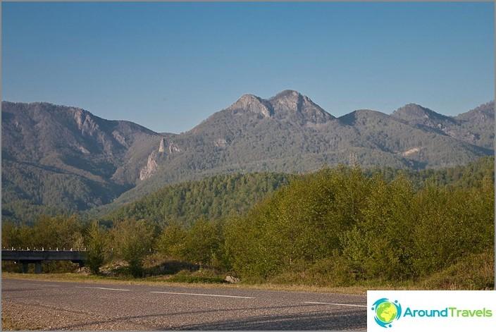 Mount kaksi veljestä. Kaukasuksella. Tuapse-alue.