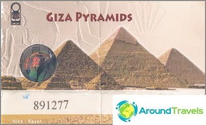 Lippu muinaisiin pyramidiin.