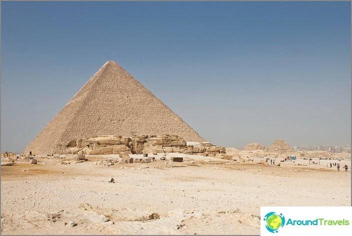 Cheopsin pyramidi.