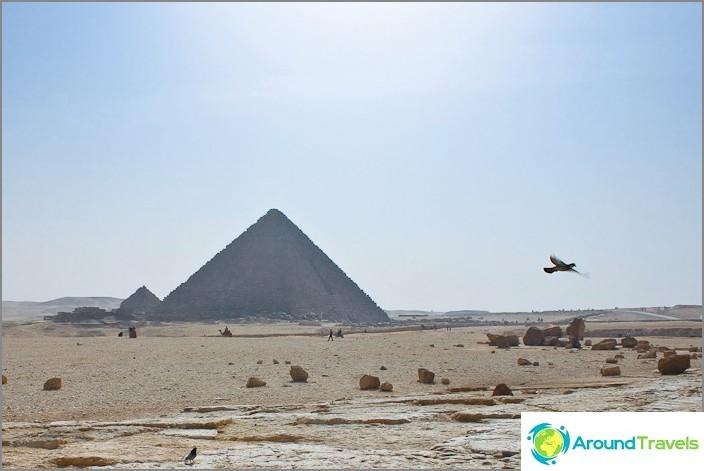 Mycerinuksen pyramidi.