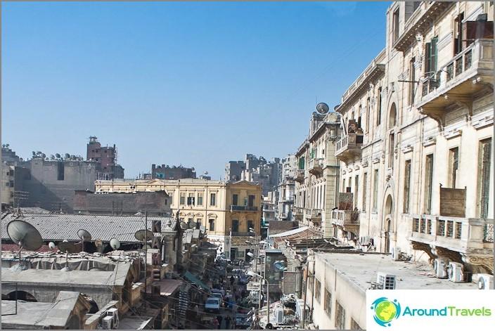 Kairo kaupunki. Streets