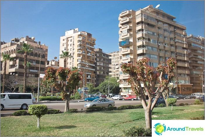 Kairo kaupunki. Egypti.