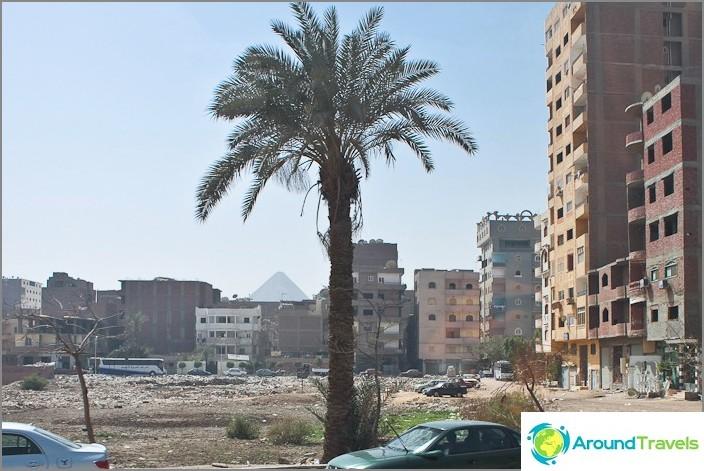 Egypti. Kairo. Asuinalue.