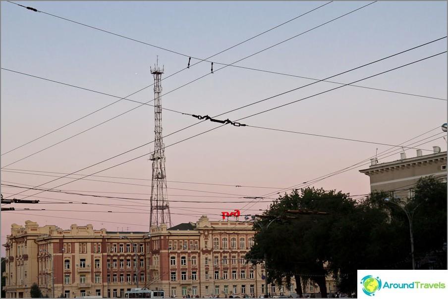 Rostovin ruudullinen taivas
