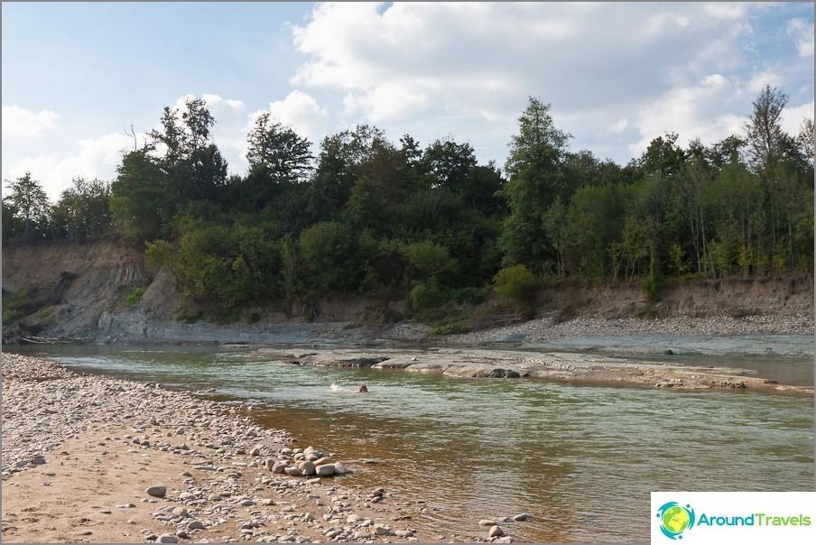 Pshekha-joki - paikallinen nähtävyys