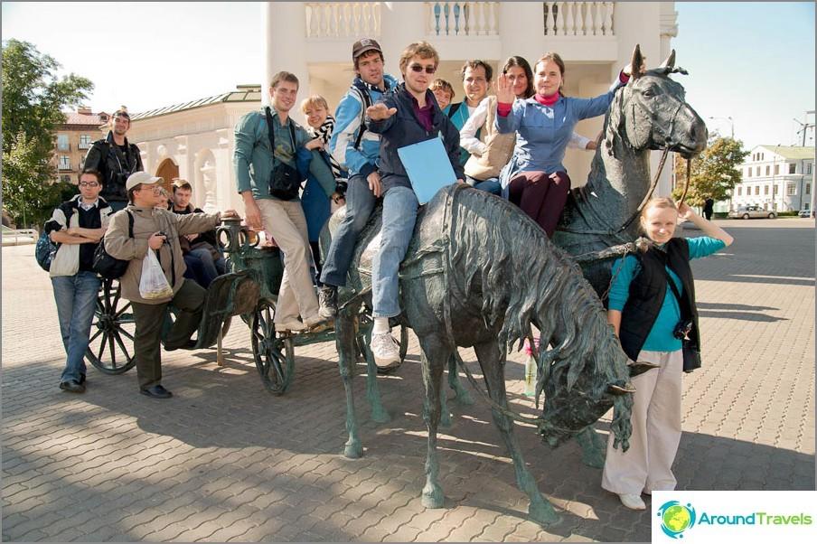 På en rundtur i Minsk