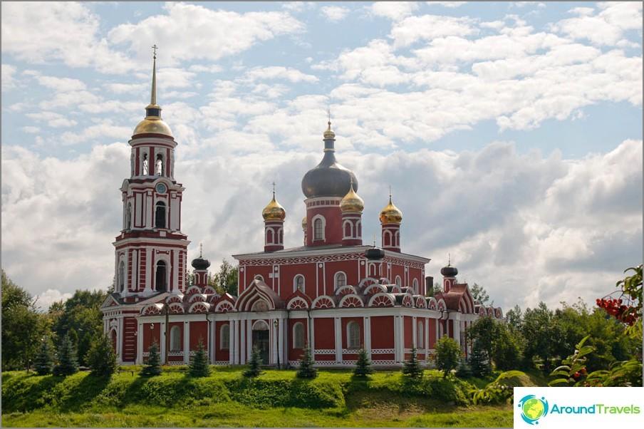 Favoritplats för promenader i Dostojevskij - Polisti invallning i Staraya Russa