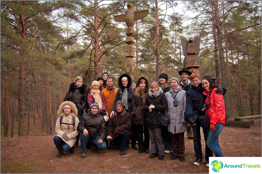I den etnografiska parken Suvar, Chuvashia