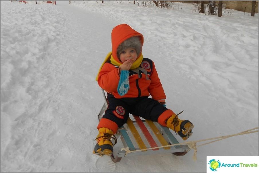 Talvi Venäjän Kaukoidässä