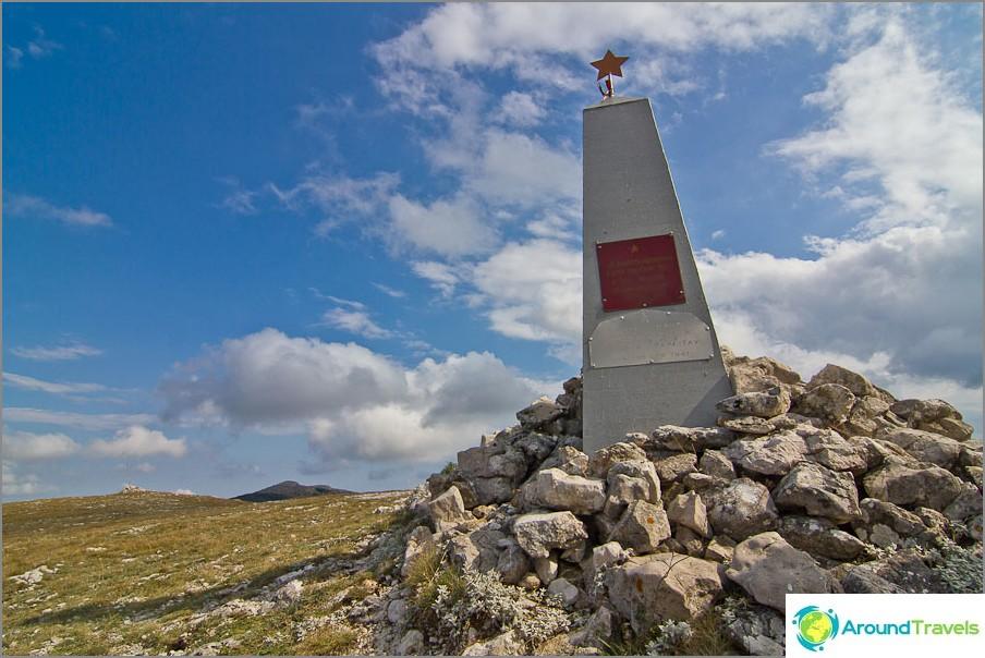 Monumentti toisen maailmansodan aikana kuolleille