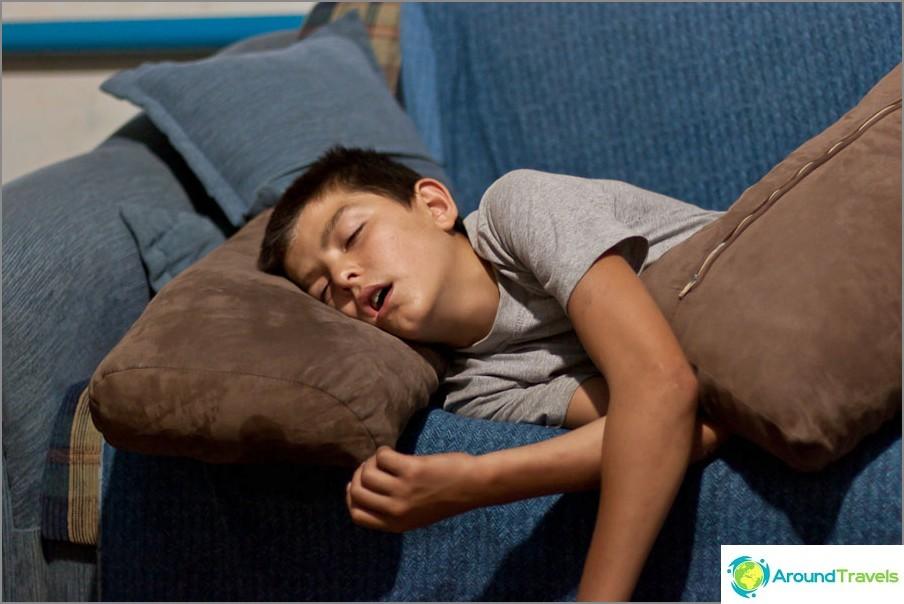 Päivä oli pitkä, kiireinen ja väsyttävä