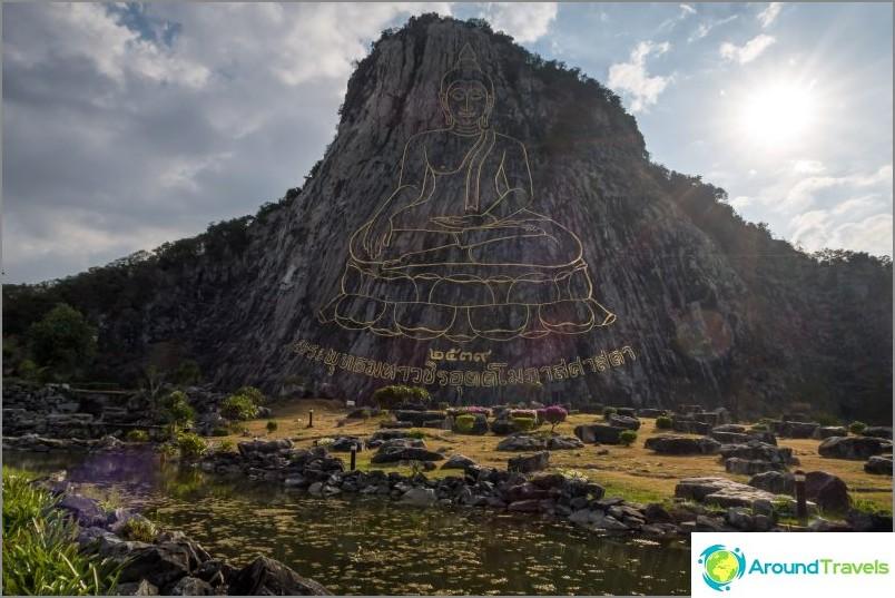 Планина Златен Буда в Патая