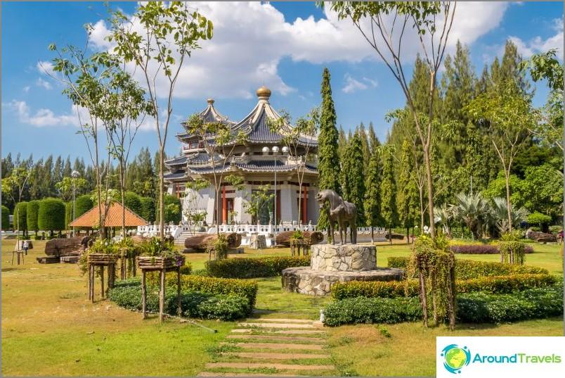 Three Kingdoms Park tai Three Kingdoms Park Pattayassa