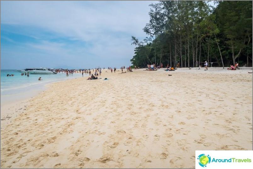Täällä se on Thaimaan Bambu-saari