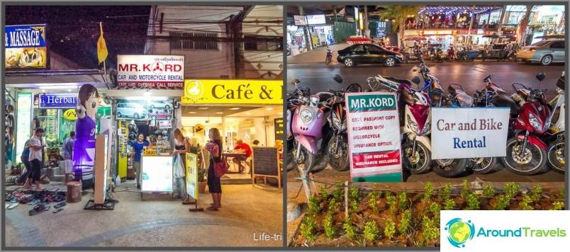 Polkupyörän ja autonvuokraus Krabissa (Aonang) - vahvistettu vuokraus