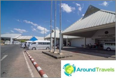 Krabin lentokenttä - online lähtö- ja saapumiskeskus, kuinka päästä Ao Nangiin ja Krabin kaupunkiin