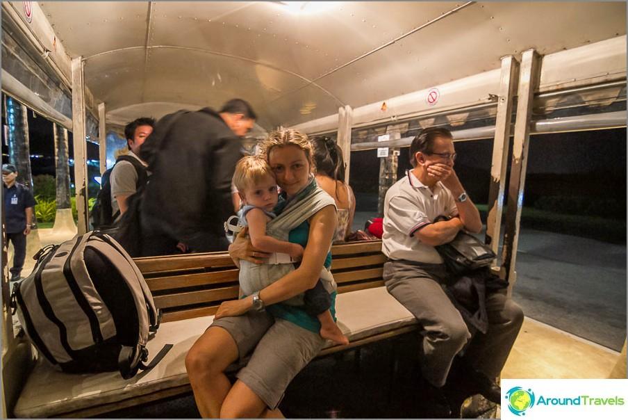 Превоз на пътници до самолета