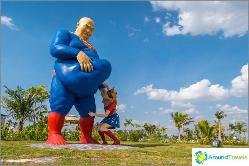 Rakkaus Art Park Pattayassa