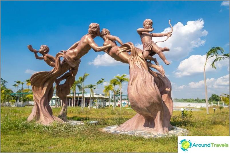 Eroottinen puisto Pattayassa