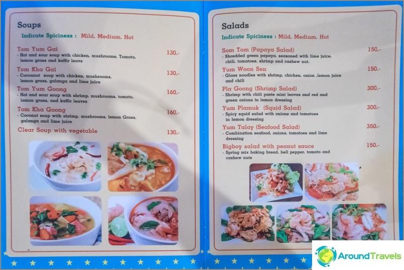 Cafe Bobby Big Boy on Lanta - thaimaalainen ravintola vanha koulu