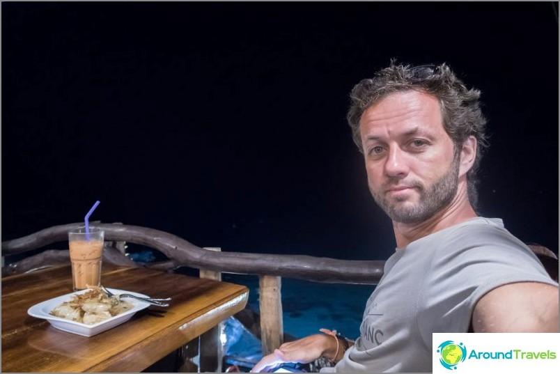 Ресторант Diamond Cliff на Lanta - най-доброто място за посрещане на залез в морето