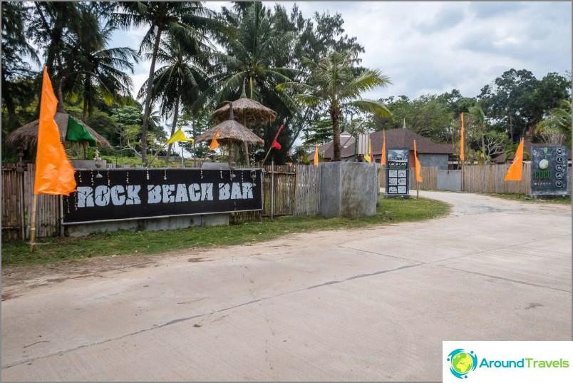 Bar Rock Beach -baari Lannassa