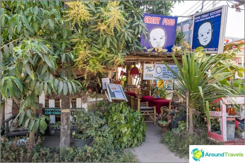 Kahvila Nong Pheat Lannalla