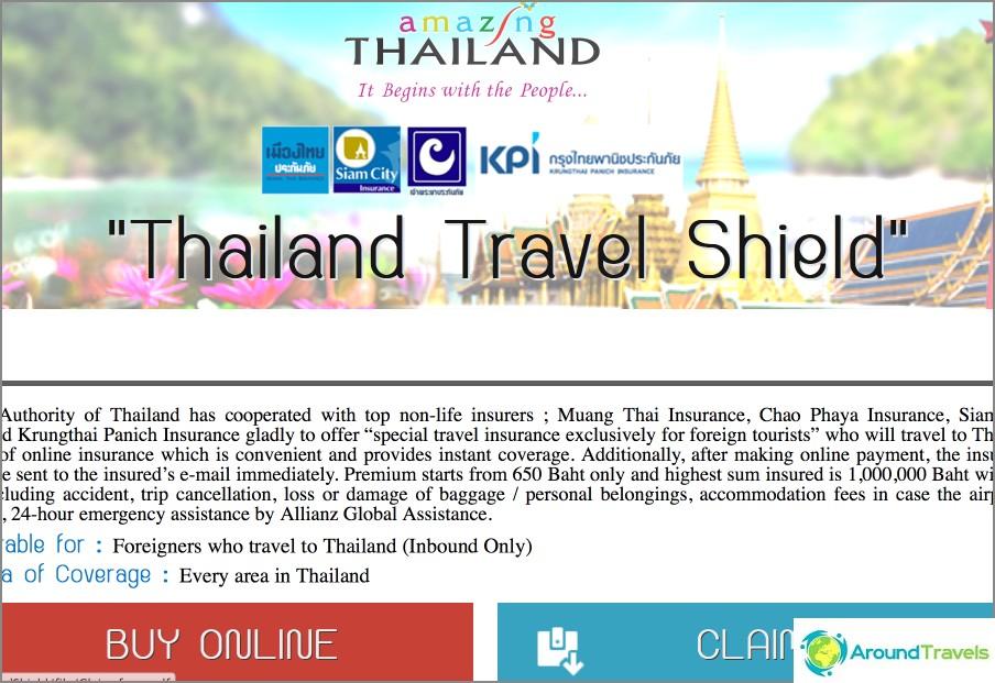 Paikallinen vakuutus Thaimaassa