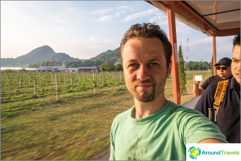 Silver Lake Vineyard Pattayassa - mukava kävely ja viini