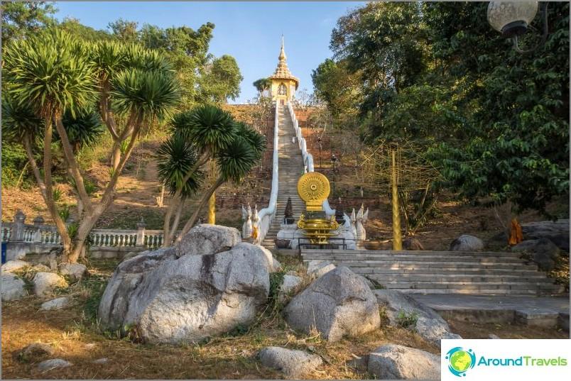 Phra Mondop -temppeli, jolla on buddhajalanjälki