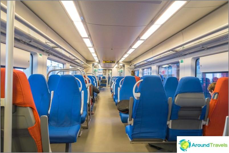 Juna Swallow ja rautatieasema Rosa Khutor - aikataulu ja kuvaus