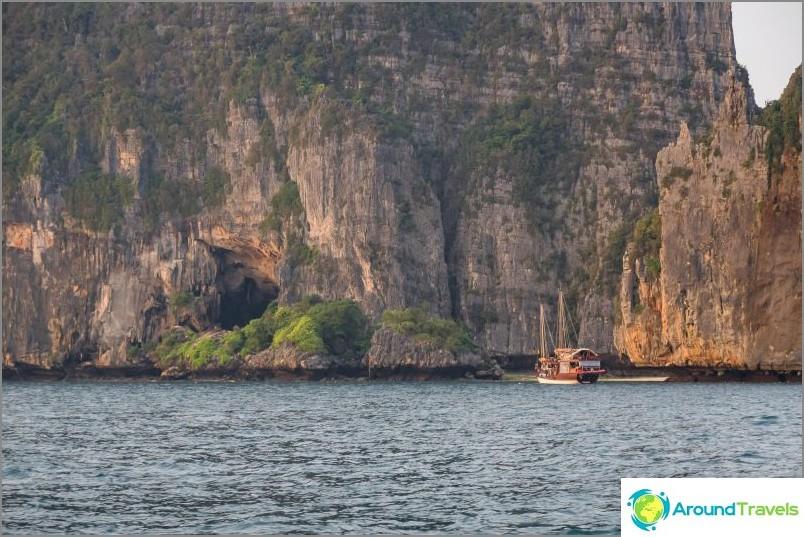 Viking-luola Phi Phi Le: ssä