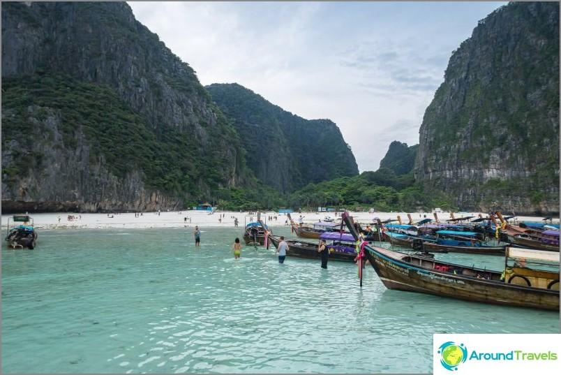 Maya Bay Phi Phi Le: ssä