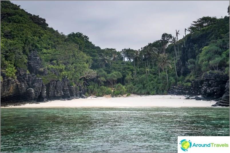 Nuin ranta Phi Phi Donissa