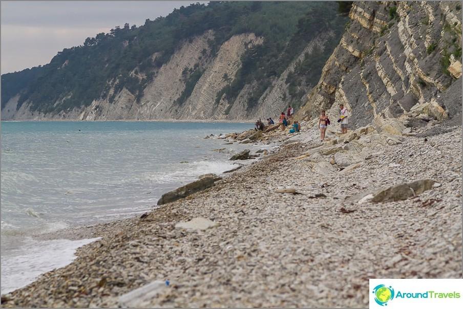 Mustanmeren villit rannat