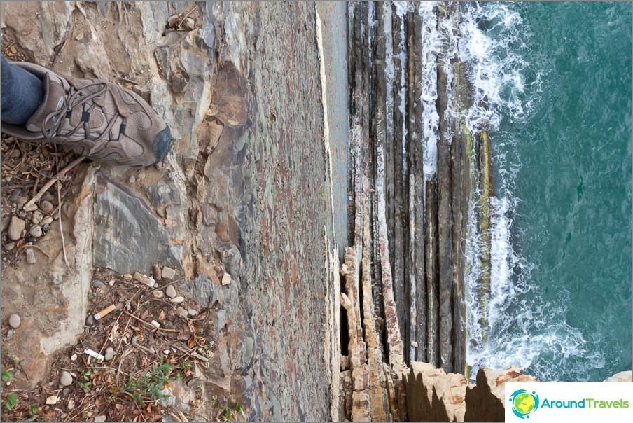 Kiseleva Rock - näkymä ylhäältä