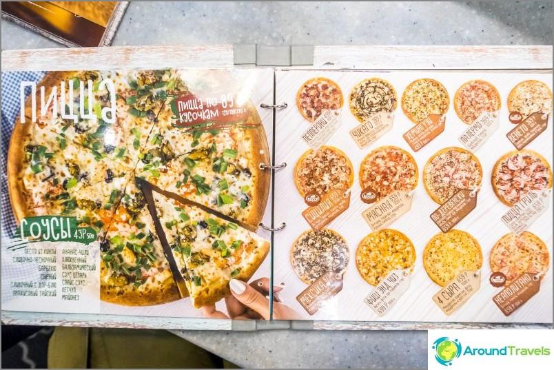 Pizzeria Sisilia Sotšissa - hyvä paikka, mutta vivahtein