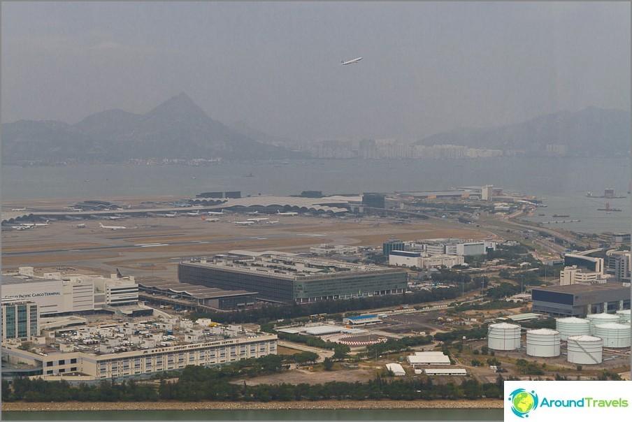 Hongkongin lentokenttä Cheklapkok