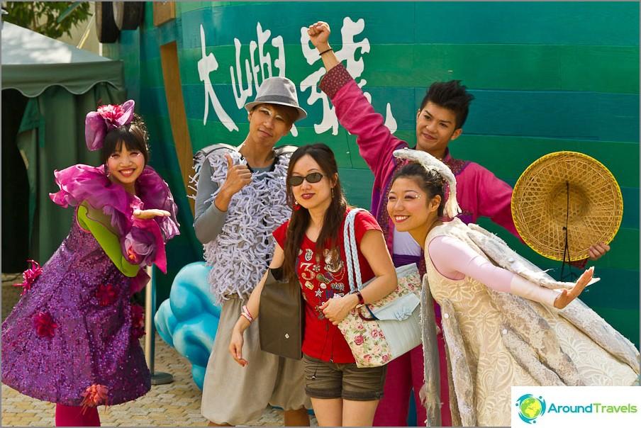 Kaikki aasialaiset ovat erittäin kiinnostuneita ottamaan kuvia